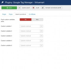 Google E-commerce Tracker for VirtueMart - box